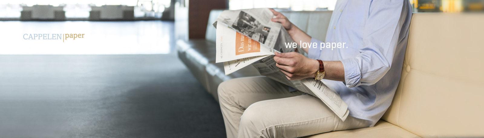 we love paper.